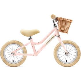 """Creme Mia Rowerek biegowy 12"""" Dzieci, różowy"""